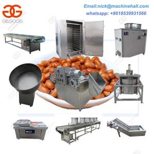 China Fried Peanut Processing Line with Good Price|Automatic Peanut Production Line|Easy Operate Groundnut Processing Machine on sale