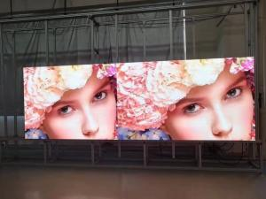 China Aluminum Indoor Led Screen , SMD1515 Rental Stage Led Display Video Wall P1.875 on sale