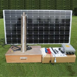 China JS3-0.9-32 Screw Solar Water Pump / Solar Powered Submersible Water Pump on sale