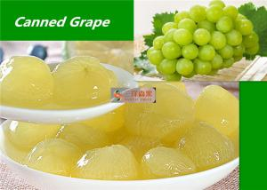 China Healthy Canned Fruit Food Grape In Syrup / Natural Seedless Green Grapes on sale