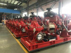 China 175PSI EDJ Fire Diesel Engine Motor / Fire Pump And Jockey Pump 1000 Gpm on sale