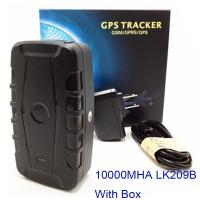 China Hot Sale Google Link Real time Tracking Car Magnet GSM GPS Tracker Free Platform With Mobile Phone APP 20000mAh Battery on sale