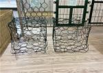 Galfan Seawall Protection 1*1*0.5m Gabion Wire Mesh