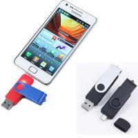 Smartphone OTG Metal USB Flash Drives  8GB 16GB apply for Android mobile phone