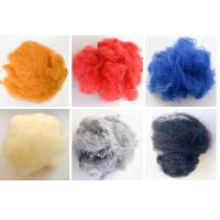 China 100% Polyester Raw Material Anti Distortion Psf Polyester Staple Fiber Flame Retardant on sale