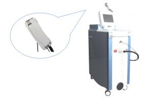 China Medical ND Yag Long Pulse Laser Beauty Machine For Facial Veins / Blood Vessels Removal on sale