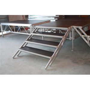 China Adjustable 6061-T6 Aluminium Stage Platform , Outdoor Stage Platform For Performance on sale