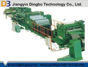 China Panasonic PLC Cut To Length Machine With Cutting Automatically on sale