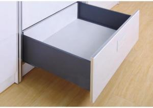 China Full Extension Kitchen Tandem Box Drawer Slide Cold Rolled Steel 270-550mm on sale