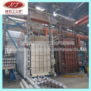 China aluminium billet casting foundry homogenizing furnace plant on sale