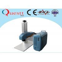 Small Optical Fiber Laser Marking Machine with 20 Watt Laptop Computer Controller