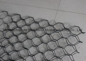 China Galvanized Double Twisted Gabion Wire Mesh Baskets Wear And Abrasion Resistance on sale