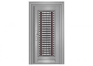 China Fire Prevention Residential Steel Entry Doors Heat Insulation Various Type Available on sale