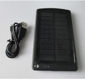 China 5V 3Ah Portable iPhone/ PSP solar Powered backup on sale