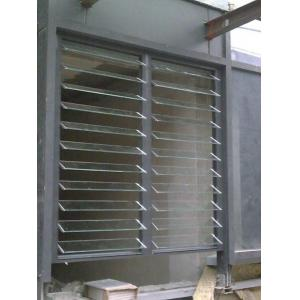 China Glass Adjustable Shutter Window / Meeting Room Interior Vertical Venetian Blinds on sale