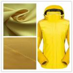 Skiing Wear Fade Resistant Outdoor Fabric 2/2 Twill Two - Tone Waterproof With TPU