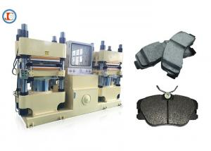 China 4 Cylinder Rubber Brake Pad Making Machine , Same Density 400 Ton Brake Disc Making Plant on sale