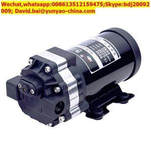 China Wide application high pressure 600g ro water pump diaphragm pump/water pump on sale