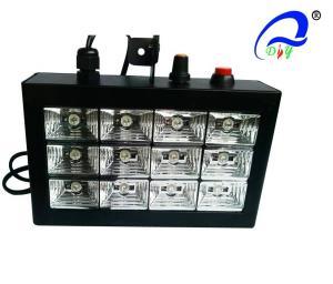 China High Power LED Strobe Light 12pcs*1W RGB LED 18PCS Optional  Strobe Disco Light on sale