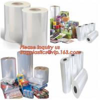 China pof plastic film cross linked pof shrink film,pof plastic film heat shrink pof packaging film,POF Package Film Str