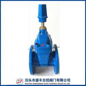 China DIN3352 F4 ductile iron Resilient Gate Valve DN300 on sale