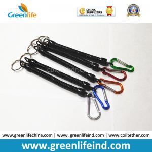 China 2.5*10*150MM Retractable Stretchy Coiled Fishing Tool Plier Lanyard Rope Strings on sale