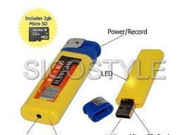 China Sound Active Spy Lighter Camera on sale