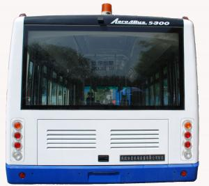 China Luxury Radio + DVD + MP3 77 Passenger Airport Apron Bus With 7100mm Wheel Base on sale