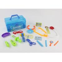 China Colorful Pretend Play Medical Kit 17 Pcs , Children's Toy Medical Case on sale