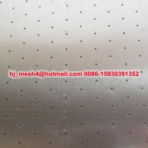 China micro perforated metal sheet on sale