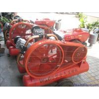 22HP wear resistant  portable diesel piston air compressor high volume