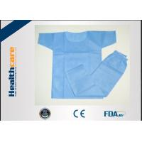 Eco Friendly Disposable Scrub Suits Surgical Hospital Gowns With CE Certificate