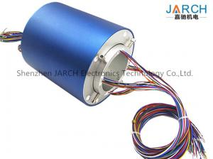 China JARCH Slip Ring Through Bore Define Slip Ring 80mm 500RPM Speed for Routing Hydraulic or Pneumatic Lines supplier