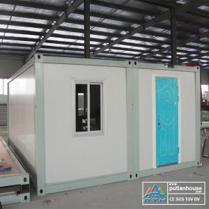 Fast Installation prefab shipping container homes Sandwich Panel for ...