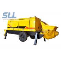 China Diesel Engine Compact Concrete Pump , Construction Concrete Pump Color Chargeable on sale