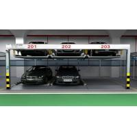 Two Level Puzzle Mechanical Parking Garage IC Card Remote Control System