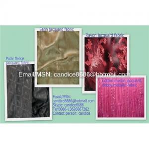China Satin jacquard fabric on sale