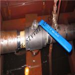 2PC forjó la vávula de bola de alta presión de acero 2000psi