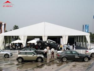 China Rainproof Fabric Sidewall Strong Event Marquee Tent For Auto Show on sale