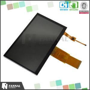 China 7 Inch Multi Touch WVGA TFT LCD Touch Screen Panel 800x480 Resolution For Smart Home on sale