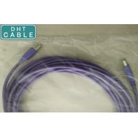 USB 2.0 PVC Cable for Industry + Drag Chains, Type A to B, 5m