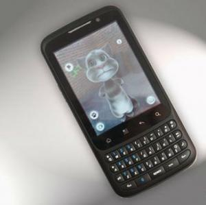 China  F606 dual sim quad band unlocked phone with android2.3 wifi GPS Qwerty keyboard   on sale