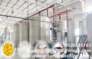 High fructose corn syrup production equipment stainless steel high