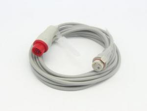 China Brand NEW high quality  Siemens IBP cable with round 10 pin to Siemens 4 pin adapter,TPU cable,medical accessories on sale