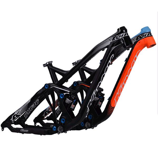 Kinesis Full Suspension Mountain Bike Frame TFM636 Enduro 164mm ...