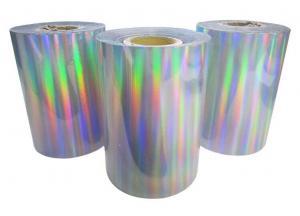 China BOPP Transparent Holographic Bopp Film ,  multilayer packaging film bopp holographic film on sale