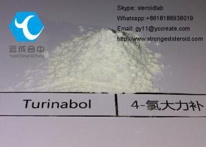 China Pharmaceutical Raw Testosterone Powder Anabolic Turinabol Oral CAS 2446-23-3 For Bodybuilding on sale