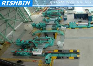China Combined Steel Coil Slitting Machine To Cut Coil Into Required Length and Strips on sale