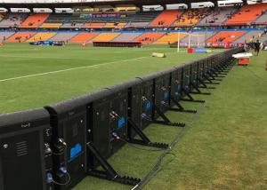 China External Banner Sports Perimeter Led Display Ip65 6000 Nits For Football Field on sale