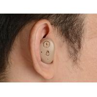 Invisible ITE Hearing Aids Amplifier , Inner Ear Hearing Aids For TV Music Talking